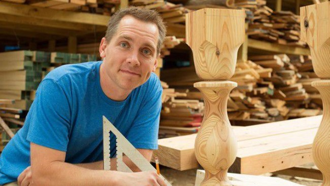 clint Harp, Fixer Upper, Woodwork, HGTV, DIY